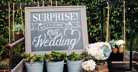 The experts guide to hosting a surprise wedding elle australia junglespirit Image collections