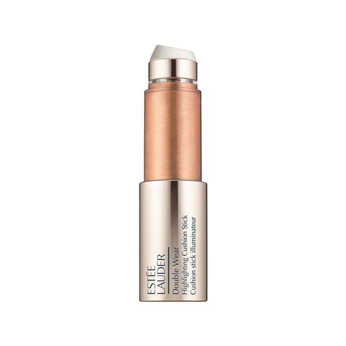 "**Illuminator** <br><br> Estée Lauder Double Wear Highlighting Cushion Stick, $58 at [Sephora](https://www.sephora.com.au/products/estee-lauder-double-wear-highlighting-cushion-stick/v/peach-glow-warm-medium target=""_blank"" rel=""nofollow"")"
