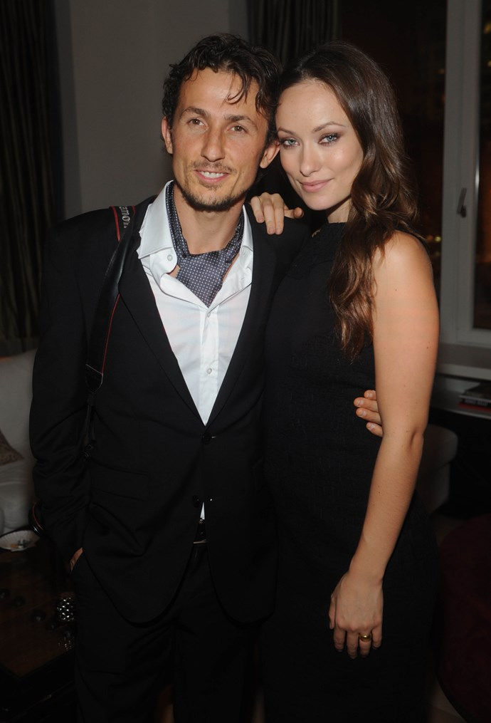 **The couple:** Olivia Wilde and Tao Ruspoli.<br><br> **Their ages:** Wilde was 19, Ruspoli was 28.<br><br> **The story:** Wilde married Ruspoli, a filmmaker and Italian prince (we mean this literally), in a secret ceremony on a school bus in 2003. The pair was together for more than eight years, before they separated in 2011. Wilde is now with Jason Sudeikis, with whom she has two children, Otis and Daisy.