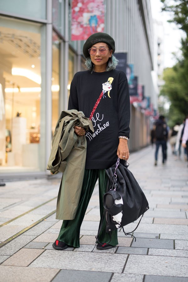Tokyo fashion week spring/summer '18