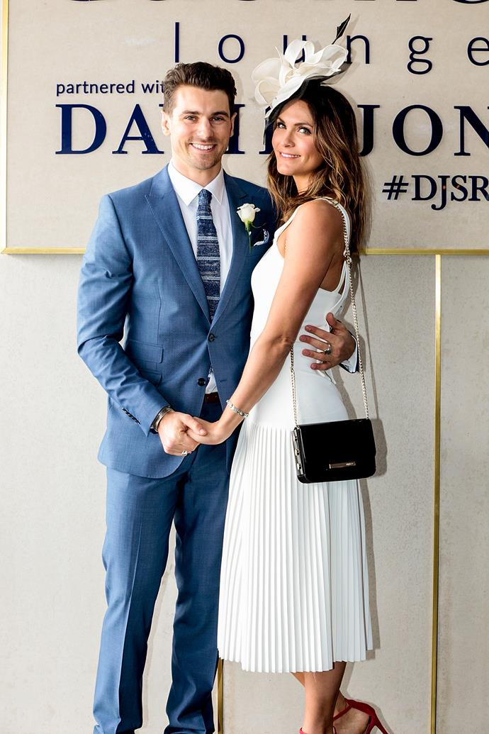 Matthew Johnson and Laura Byrne