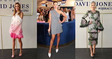 The 13 Chicest Looks From The 2017 Bmw Caulfield Cup Elle Australia