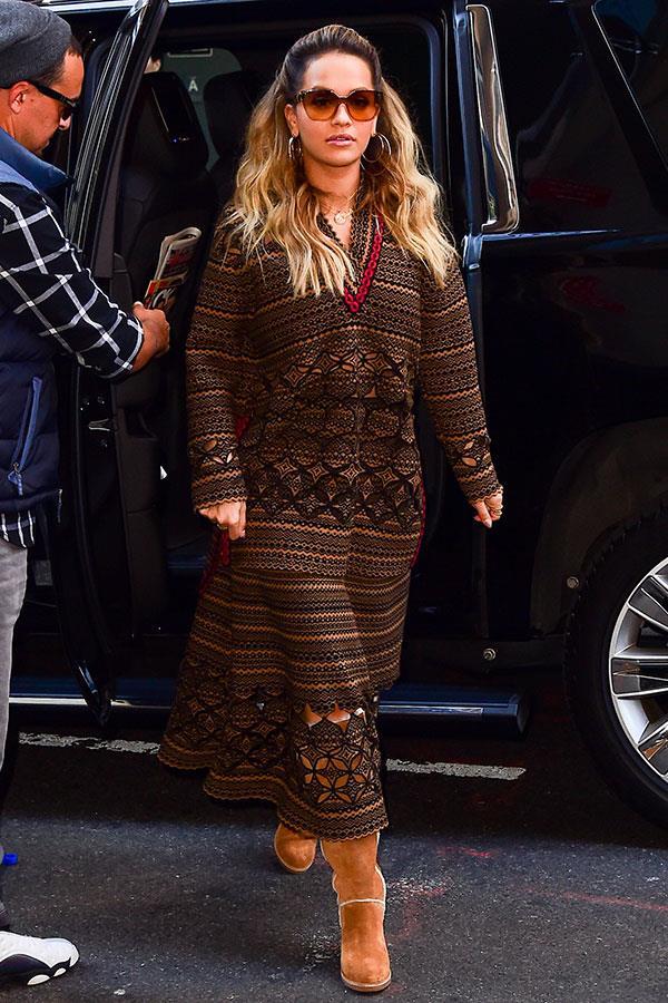 Wearing Fendi in New York City, October 2017
