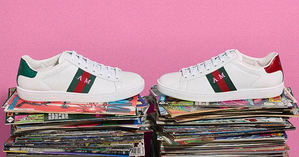 71177c5749d How To Get Monogrammed Gucci Sneakers Online