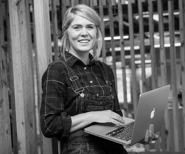 Ally Watson, co-founder of Code Like A Girl