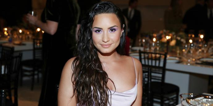 """**PURPLE HAZE** <br><br> **Who's wearing it:** Possibly the most 2000's pastel eyeshadow shade of all of them, [Demi Lovato](https://www.elle.com.au/celebrity/taylor-swift-reaction-to-demi-lovato-squad-comments-5103