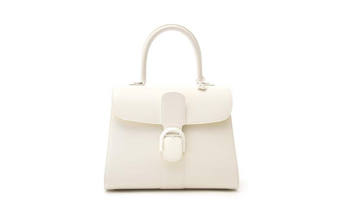 Bag, $8,450 at [Delvaux](https://www.delvaux.com/en/collections/brillant) <br><Br> **Compartments:** Four, plus an interior zip pocket.