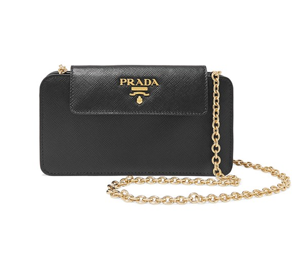 Proof that good things come in small packages, this Prada number is the ultimate micro multi-tasker; there's room for your cards, lipstick and lifeline (AKA your mobile) and you can wear it cross-body or as a bracelet bag. Travelling light never looked so good.  <br><br>Phone Case, $1,270, [Prada at Net-a-Porter](https://www.net-a-porter.com/au/en/product/946165/Prada/textured-leather-phone-case)