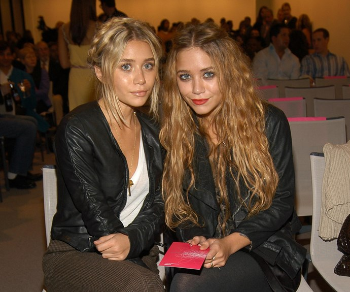 The Olsens were definitely early adopters of the boho style. Check out Ashley's super-cute milkmaid braids and Mark-Kate's long, mermaid-esque locks.