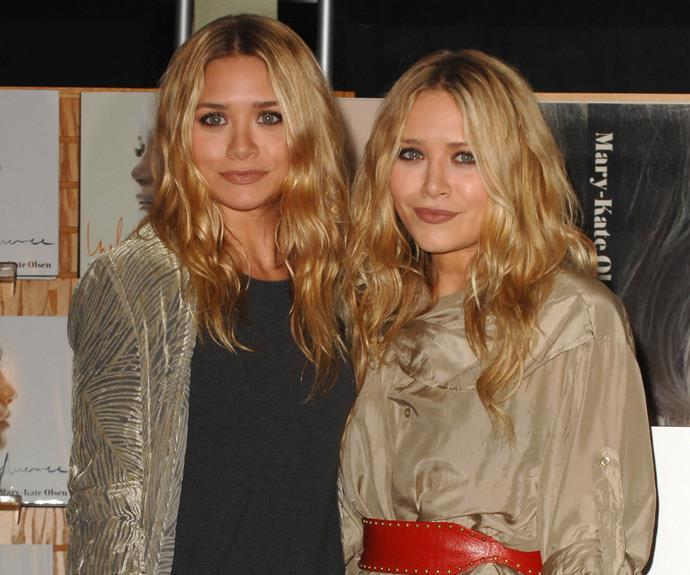 But it didn't take long for both twins to return to their iconic golden blonde colour.