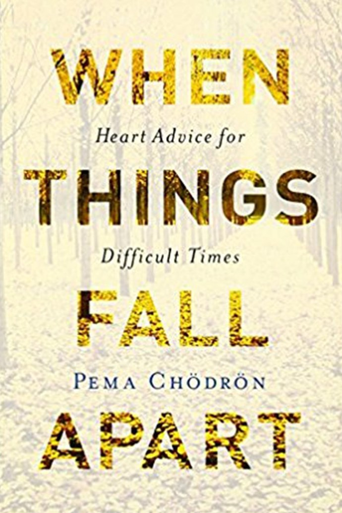 """***When Things Fall Apart: Heart Advice for Difficult Times* by Pema Chödrön** <br><br> I would hand every man my go-to guide on how to navigate difficulty with mindfulness, grace, and compassion. (Frankly, that's something we can all use right now.) I've come to accept that it's impossible for a man to fully understand what it means or how it feels to be a woman. But learning to approach these conversations with empathy and vulnerability is a good start. — [Caroline Donofrio]( http://helloimflawed.com/