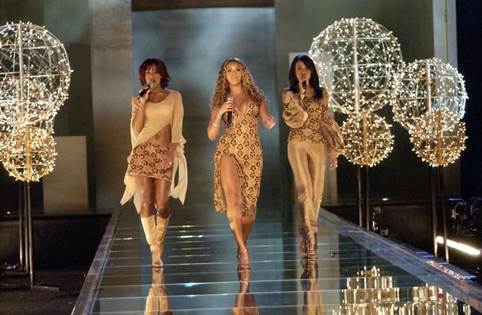 **Destiny's Child, 2002** <br><br> Oh what we wouldn't give to have been at this Destiny's Child performance.