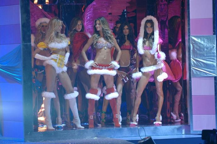 **Karolina Kurkova,Gisele Bündchen, and Alessandra Ambrosio, 2005** <br><br> Karolina, Gisele, and Alessandra doing their best Mean Girls impression.