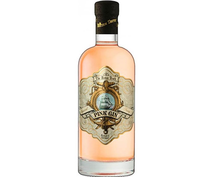 "The Bitter Truth Pink Gin, $74.95 at [Dan Murphy's](https://www.danmurphys.com.au/product/DM_ER_1000002957_5TBTRPGIN/the-bitter-truth-pink-gin-700ml|target=""_blank""