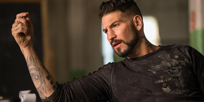 Jon Bernthal as Griff in *Baby Driver*