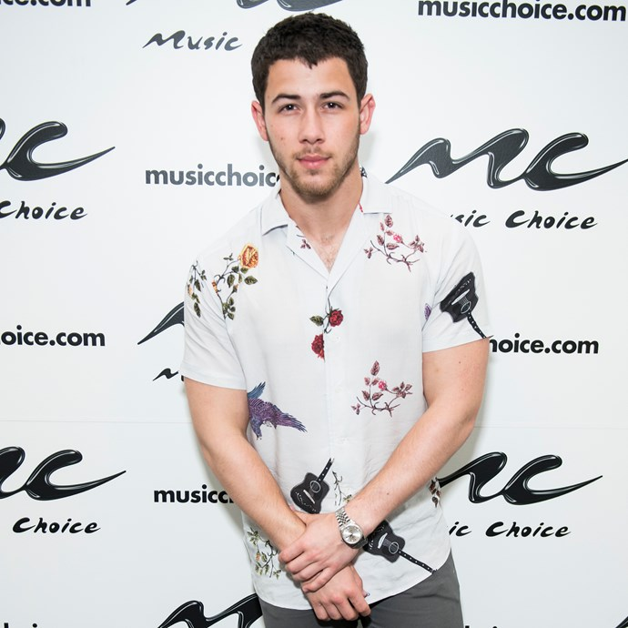 **Nick Jonas** <br><br> The 25-year-old actor and singer signed on with Wilhelmina Models back in 2014.