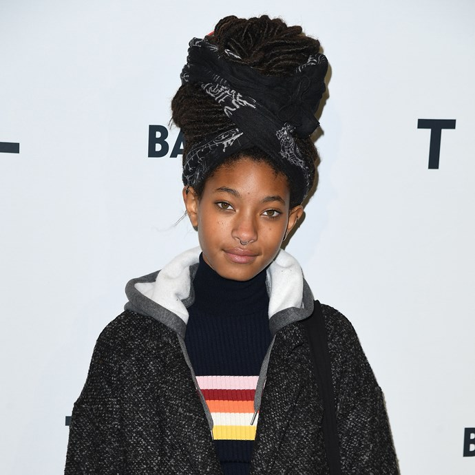 "**Willow Smith** <br><br> Also joining Stenberg at The Society Management is 17-year-old Willow Smith, who joined the modelling agency in 2015. Shortly after signing on with the agency, Willow was announced as the new face of [Chanel Eyewear](https://www.harpersbazaar.com.au/fashion/willow-smith-first-campaign-for-chanel-eyewear-3651|target=""_blank"")."