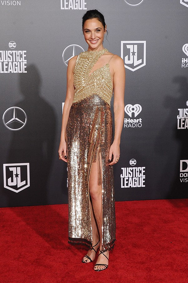 Wearing Altuzarra at the *Justice League* LA Premiere on 13 November, 2017