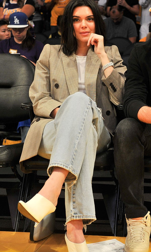 At the Los Angeles Clippers vs. Los Angeles Lakers game. October 19th, 2017.