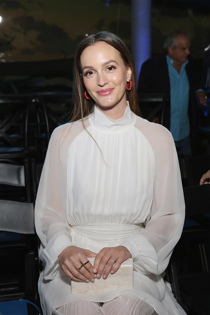 "**Leighton Meester: *Gossip Girl*** <br><br> Once the reigning Queen Bee of Manhattan, **Leighton Meester** is living a much quieter life nowadays (while married to **Adam Brody**), and she doesn't have much time on her hands for a *Gossip Girl* reunion—despite the constant pleas of the show's eager fandom.  <br><br> Alongside stating she never, ever wants to play a Blair-like character again, Meester shut down all chances of a *Gossip Girl* re-up by simply replying ""Nope"" when [asked if there were any chances of a reunion happening](https://www.cosmopolitan.com.au/lifestyle/13-times-gossip-girl-stars-slammed-the-show-12858