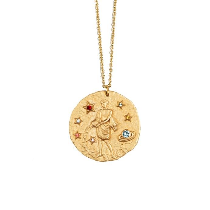 "*Aquarius* <br><br>Necklace, $103, [Maje](https://uk.maje.com/en/collection/jewelry/verseau/H17VERSEAU.html?cgid=Accessoires_Bijoux|target=""_blank""|rel=""nofollow"")."