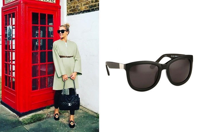 "**Caroline Fleming's *Linda Farrow x The Row* Sunglasses** <br><br> I have the world's biggest style crush on **Caroline Fleming** and stalk her outfits on Instagram. As a sort-of-royal Danish aristocrat, a lot of what she wears and carries are way out of budget, but these sunglasses looked amazing on her (and I could find them second-hand—win!). ―*Leah Melby Clinton, Director of Branded Editorial Strategy* <br><br> *Linda Farrow x The Row Sunglasses, $605, [Linda Farrow International](https://int.lindafarrow.com/catalog/product/view/id/1372/s/the-row-74-c2-d-frame-sunglasses/|target=""_blank""