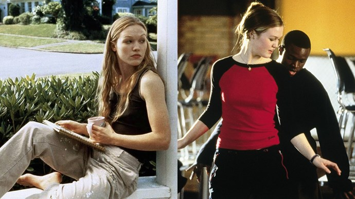 ***Julia Stiles***<br> **Notable works:** *10 Things I Hate About You; Save the Last Dance.*<br> **Her signature:** Her witty quips and standoffish lovability.