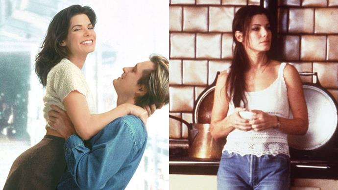 ***Sandra Bullock***<br> **Notable works:** *While You Were Sleeping; Practical Magic; Hope Floats.*<br> **Her signature:** Her versatility and on-point comedic timing.