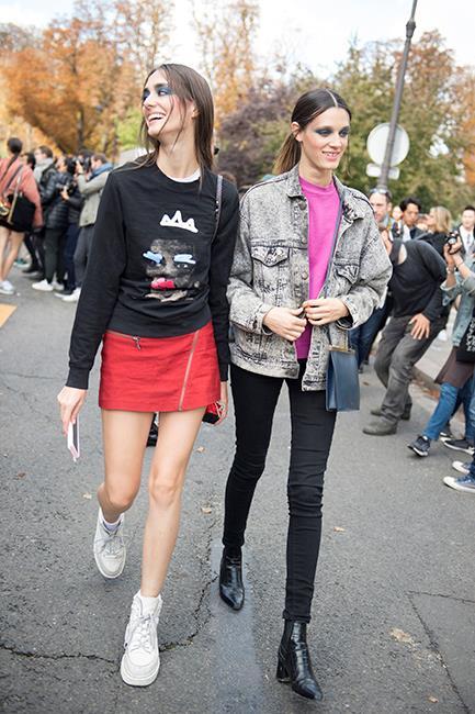 Amanda Googe and Leila Goldkuhl<br><br>  Image: Jason Lloyd-Evans