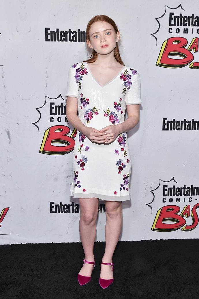 Attending the Entertainment Weekly's Comic-Con party.