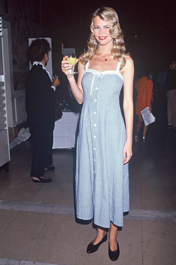Claudia Schiffer, 1992
