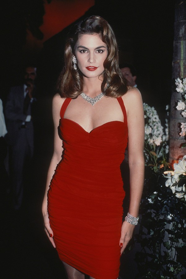 Cindy Crawford, 1990