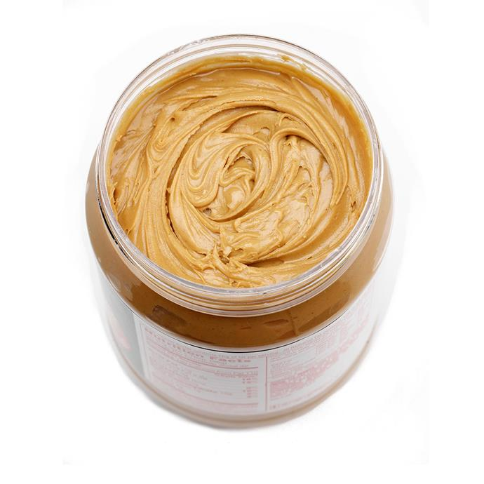 **Peanut butter**    *Contains 7g of protein per 2tbs 30g.*