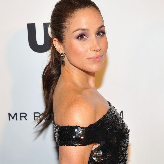 Meghan at a 2012 Mr Porter.com event in New York.