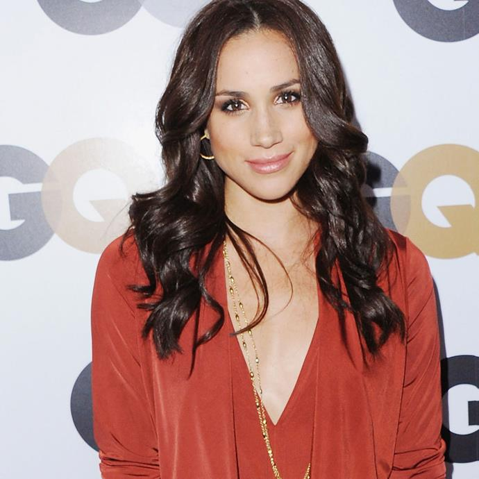 Markle at the *GQ* Men Of The Year Party in 2012.