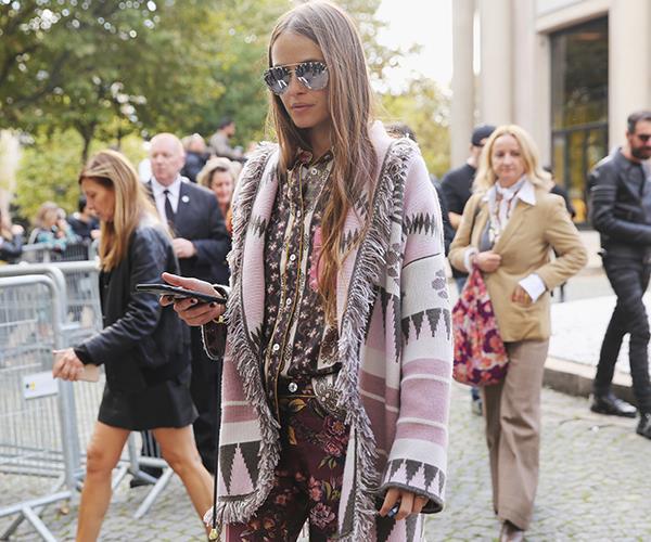 Carlotta Oddi at Paris Fashion Week S/S '18