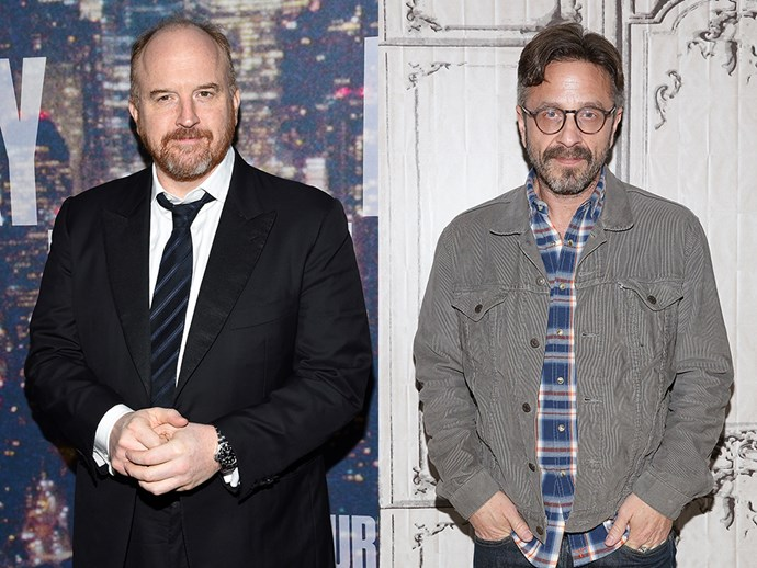 Louis C.K. and Marc Maron