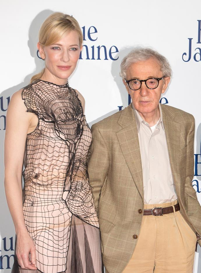 """**Cate Blanchett** <br><br> Blanchett, who won an Oscar for her role in 2013's *Blue Jasmine*, only said, """"It's obviously been a long and painful situation for the family and I hope they find some sort of resolution and peace."""""""