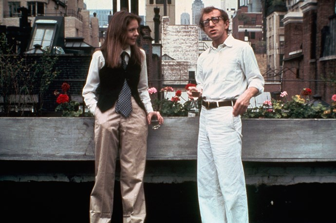"**Diane Keaton** <br><br> Keaton is one of Allen's long-time collaborators—they worked together in 1977's iconic *Annie Hall*—and his one-time romantic partner. When she was asked by [*The Guardian*](http://www.theguardian.com/film/2014/may/03/diane-keaton-i-love-woody-allen-i-believe-my-friend|target=""_blank"") about the accusations against Allen, she said, ""I have nothing to say about that. Except: I believe my friend."""