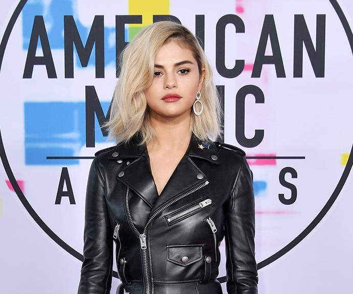 Selena went for this short blonde 'do, after splitting from The Weeknd in November.