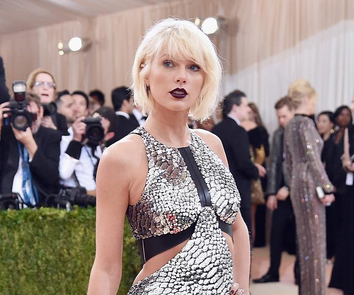 Taylor Swift coloured her hair platinum blonde, post-split from Calvin Harris.