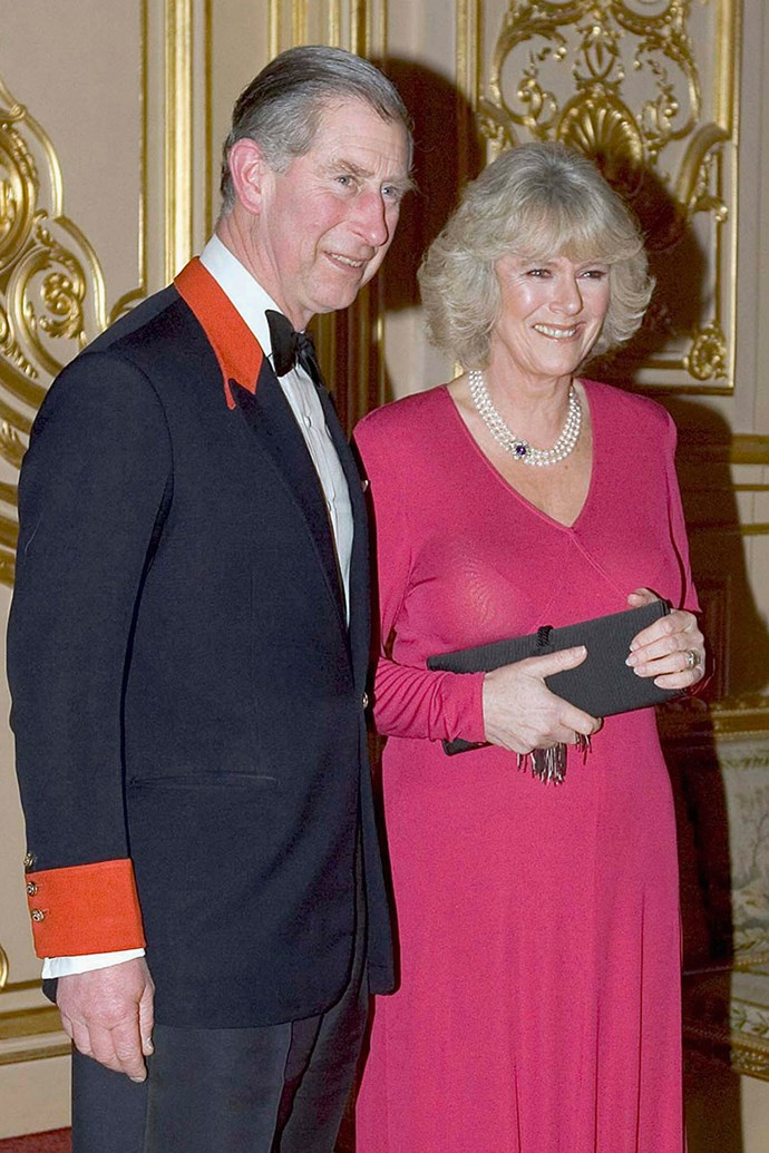 **Prince Charles and Camilla Parker Bowles** <br><br> Engaged: February 10, 2005 <br><br> After meeting in 1971, Charles and Camilla quickly became close friends, and eventually a couple. Although they broke up in 1973, it was rumoured that they started seeing each other again in 1980, and continued to do so through Charles's marriage to Diana and Camilla's marriage to Andrew Parker Bowles.  <br><br> The pair announced their engagement in February 2005, and later married in April.