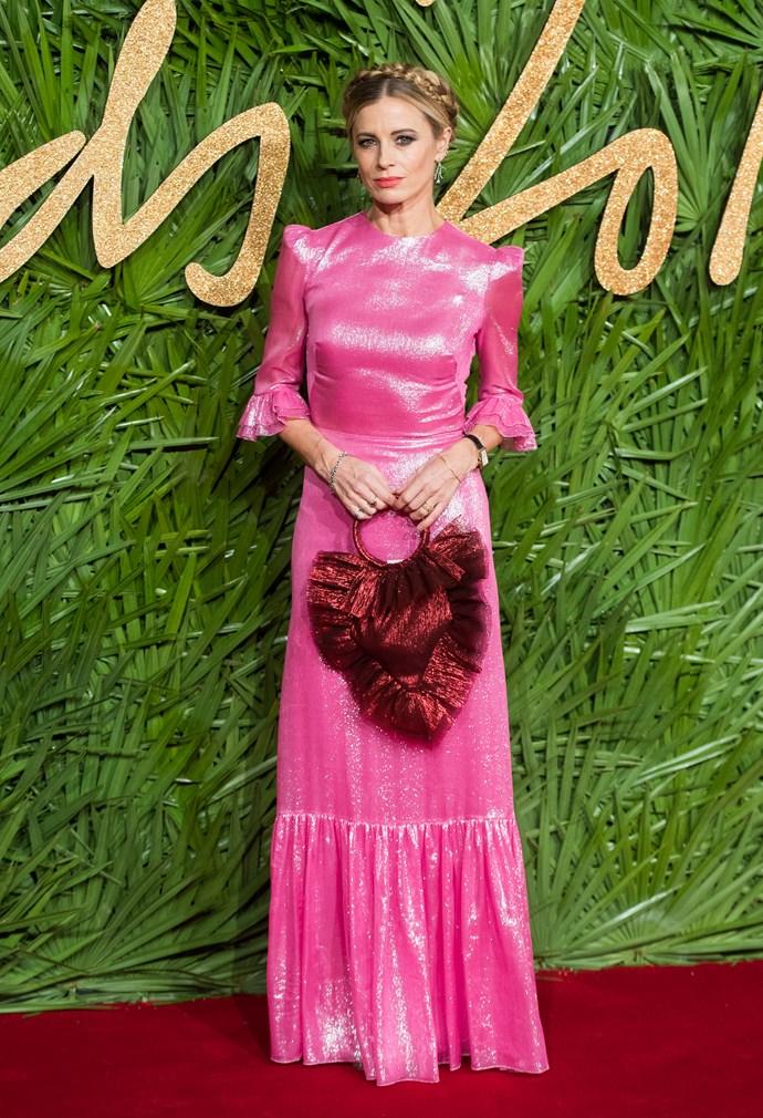 Laura Bailey at the British Fashion Awards.