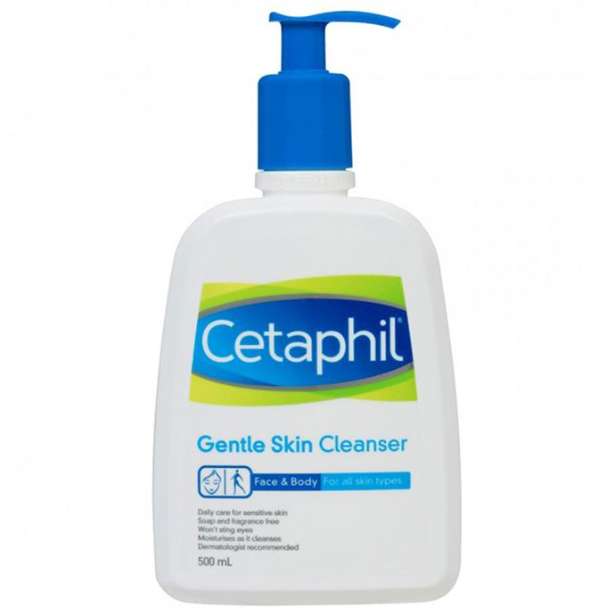 "**Try this instead:** Cetaphil Gentle Cleanser, $16.49 at [Priceline](https://www.priceline.com.au/cetaphil-gentle-cleanser-500-ml|target=""_blank"")"