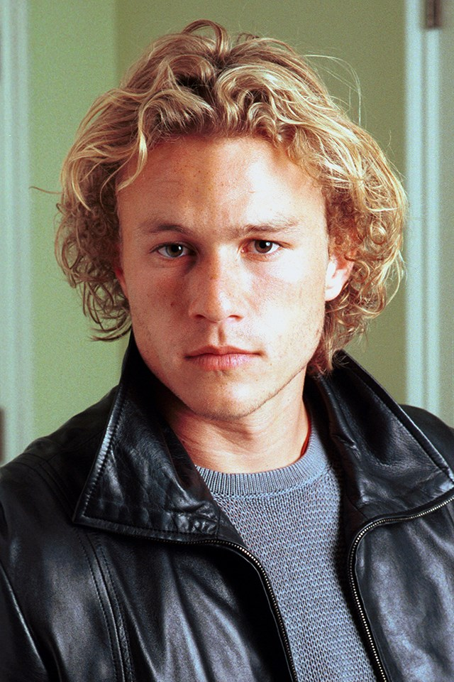 **Heath Ledger** <br><br> Heath was one of the best acting talents to come out of Australia before his untimely death in 2008. He also had dreamy blonde curls that gave him an undeniable Aussie charm (once again, paired with one of the best smirks in film history).