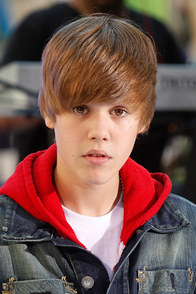 **Justin Bieber** <br><br> Okay, we're not saying we necessarily wanted Justin Bieber's now-iconic side-swept hair, but you can't deny that it was somewhat influential! We're very impressed by the shine factor. JB, what shine spray do you use? Asking for a friend.