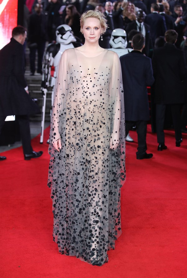 Gwendoline Christie in Iris van Herpen