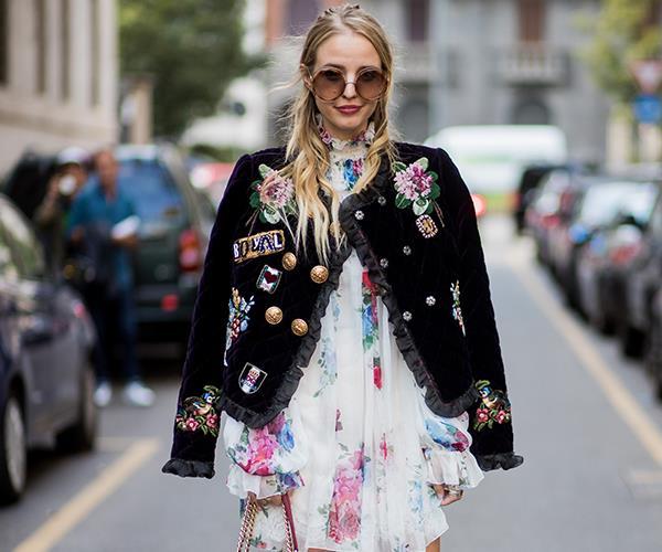 Leonie Hanne at New York Fashion Week S/S '18