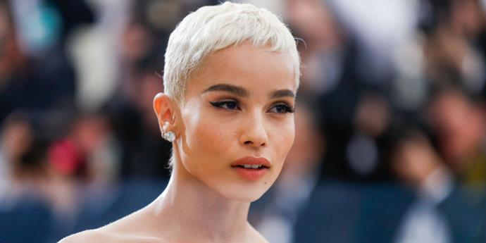 "**Pixie Crops** <br><br> Thanks to Cara, K-Stew and Zoë Kravitz, **pixie crops** are [firmly back on the celeb hair scene](https://www.elle.com.au/beauty/celebrities-with-bleach-blonde-pixie-haircuts-11535|target=""_blank""). Keep it bleach blonde and adorned with everything from glitter to gold brooches to channel SS18's nod to the trend.  <br><br> **Pinterest Increase:** 130%"