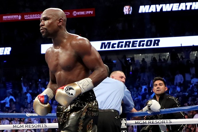 **5. Floyd Mayweather:** The American boxer fought UFC fighter Conor McGregor in one of the biggest fights of the year. Everyone wanted to know how and when to watch it in Australia.